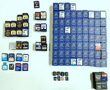 Huge Lot of 900+ Used SD Cards Memory Storage Micro Untested 2GB 4GB 8GB 32GB
