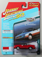 1992 Cadillac Allante Euro Red JOHNNY LIGHTNING DIE-CAST 1:64