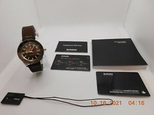 Rado Captain Cook Automatic Brown Dial Men's Watch R32505305 Great Price