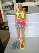 Vintage Barbie  1989 Ken Doll Hawaii Ken