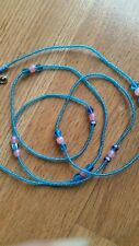 BEAUTIFUL AND SEXY BLUE ANd PINK WAIST BEADS, BELLY CHAINS