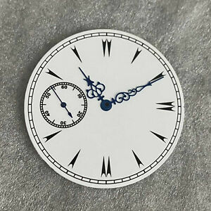 38.8MM White Watch Dial w/ Watch Hands for ETA6497 ST3600 Watch Movement Parts