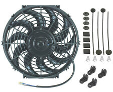 """12"""" INCH ELECTRIC RADIATOR COOLER FAN 12V UNIVERSAL HIGH AIR FLOW PUSHER PULLER"""
