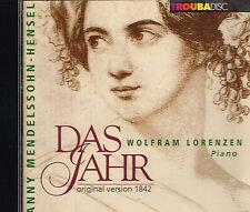 CD album: Fanny Mendelssohn- Hensel: Das Jahr. Lorenzen. Troubadisc. J