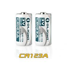 Olight CR123A Battery 3V 1600mAh High Performance Battery - 2pc