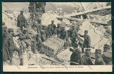 L'Aquila Avezzano Terremoto cartolina QQ3899