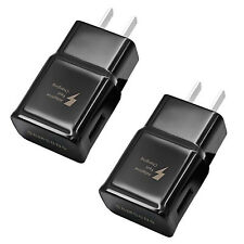2x USB Wall Charger OEM Adaptive Fast Charging For Samsung Galaxy S9 S8 Note 8 9