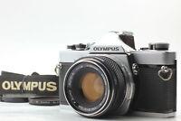 [Exc+5] Olympus OM-1 35mm SLR Film Camera w/ F.Zuiko 50mm F1.8  From Japan
