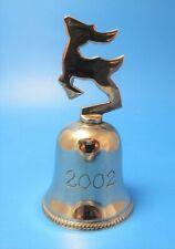 International Silver Company Rudolph Deer Bell 2002