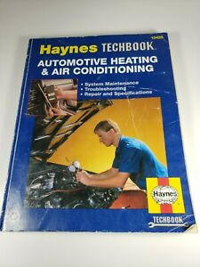 Haynes Techbook: Automotive Heating & Air Conditioning - #10425 - Stubblefield