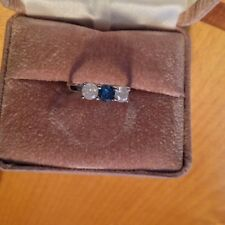 1.03 CARAT DIAMOND THREE STONE RING 14K WG **LOW PRICE!**GREAT FOR MOTHERS DAY!!