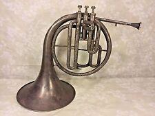 Ant Mellophone Horn Windsor Model Elkhart IN 3 Valves Conn Mouthpiece No Case