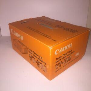Canon Tuner Timer Unit VT- E10 Vintage