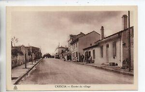 Entree du village, Crescia