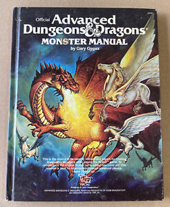 Monster Manual - Gary Gygax Advanced Dungeons & Dragons