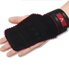2 Hand Grips Gloves with Wrist Wrap Anti-Skid Gym Fitness Weight Lifting Grip GR