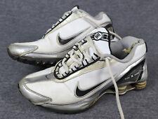 Nike  Shox, Gr. 38, UK 5, Weiß, Leder/used