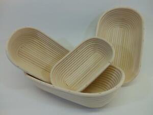 Brotbackform OVAL Brot aus BRD Brotbackkorb Gärform Teigkorb Gärkorb Gärkörbchen