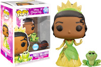 Princess Tiana & Naveen Glitter FUNKO POP VINYL NEW in Box