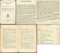 MAZZINI-BIBLIOGRAFIA MAZZINIANA-ARMANDO LODOLINI-1932-TUTTO IL PUBBLICATO-93 p