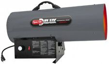Natural Gas Portable Space Heater Forced Air Heat BTU Garage Shop 150K Torpedo