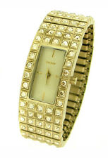DKNY CRYSTAL GOLD TONE BRACELET LADIES WATCH NY8245