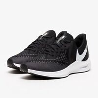 NIKE ZOOM WINFLO 6 Scarpe Running Uomo Neutral BLACK WHITE GREY AQ7497 001