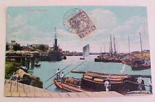 CHINA  TIENTSIN 2 IJPO on CARD 1911