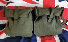 Unissued British Army 58 Pattern Webbing Kidney Pouches Ireland Falklands
