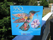 Hummingbird garden 550 Piece Jigsaw Puzzle~Bits & Pieces New & Factory Sealed!