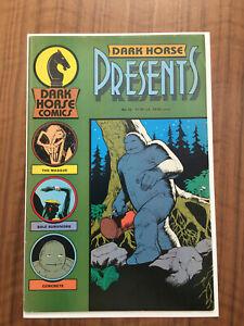 Dark Horse Presents #10, 1st Masque (The Mask) 1987, Rare Comic, VG+