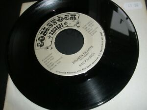 """Rae Palmer Broken Hearts b/w You're A Dream Come True 7"""" 1987 Comstock COM 1839"""