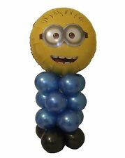 Minions Despicable Me FOIL BALLOON PARTY TABLE DECORATION KIT -ALL  AIR FILLED