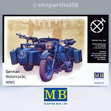 MB Nr. 3528 German Motorcycle BMW R75 WWII 1 35
