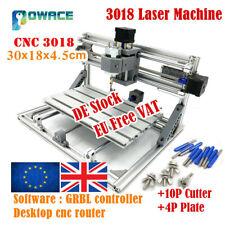 『GB』3 Axis 3018 GRBL ER11 DIY Mini CNC Laser Router Machine Wood Pcb Engraving