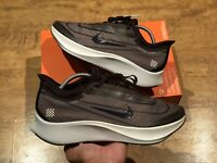 NIKE ZOOM FLY 3 PRINT PRM RUNNING TRAINERS SIZE UK9 EUR44 BLACK