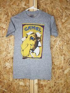 Vintage 80s Joe Camel Cigarettes T Shirt Single Stitch Paper Thin