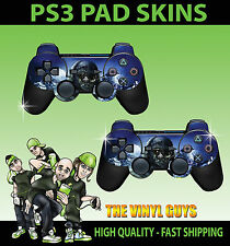 Play Station 3 Pad Sticker Skins X 2 Cod Call Of Duty Ghosts