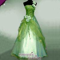 ♥Größe 34,36,38,40 oder 42 Ballkleid Abendkleid Brautkleid Grün+NEU+E230♥