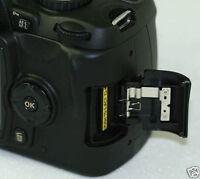 Genuine BLACK Nikon D40 D40X D60 SD MEMORY DOOR CAP LID COVER FREEPOST UK Seller