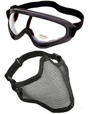 Demi Masque Grillage & Airsoft Paintball Des Lunettes De Protection