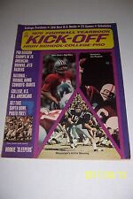 1970 Kick Off MISSISSIPPI Archie MANNING High School COLLEGE NFL Preview
