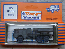 Roco / Herpa Minitanks (NEW) Modern West German LARS 2 Rocket Launcher Lot #770K