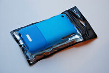 iPHONE 3G 3GS HARDSHELL CASE COVER BLUE BABY METALLIC SOFT TOUCH STRONG