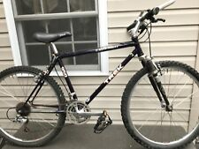 "Vintage Trek 950 Single Track Mountain 17"" Bike Lugged Carbon FSX Titanium Fork"