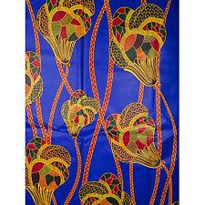 African Flower Jewels Print Fabric BY 1/2 YARD Ankara kitenge fancy wax p1278