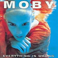 MOBY - EVERYTHING IS WRONG CD ~ ELECTRONIC~AMBIENT *NEW*