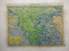 Antique Map of Greece by Ptolemy 1597