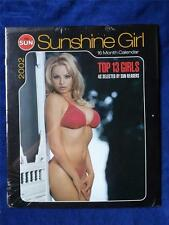 TORONTO SUN SUNSHINE GIRL NEWSPAPER PIN UP GIRL MODEL CALENDAR 2002 COLLECTOR