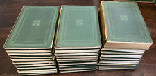 Encyclopedia Britannica 11th Edition (1910-1911) Complete Set Dark Green Leather